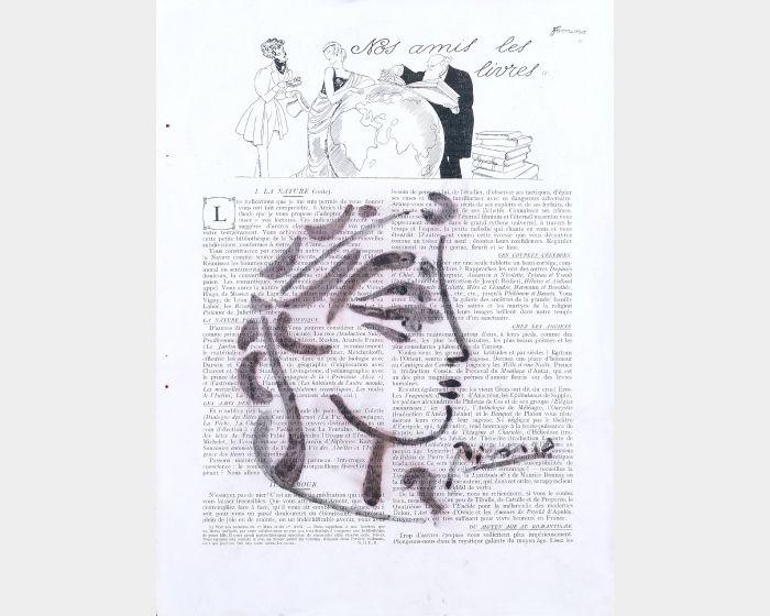 巴勃羅·畢卡索-法國時尙雜誌上的女性頭像隨筆