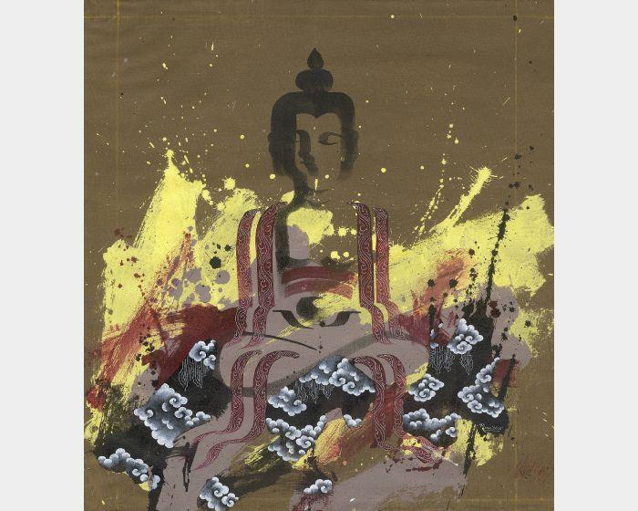 Pema Tshering-Half Buddha Series 2145 (2)