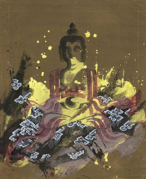 Pema Tshering-Half Buddha Series 2145 (3)