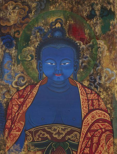 Tshering Wangchuk-Blue Buddha
