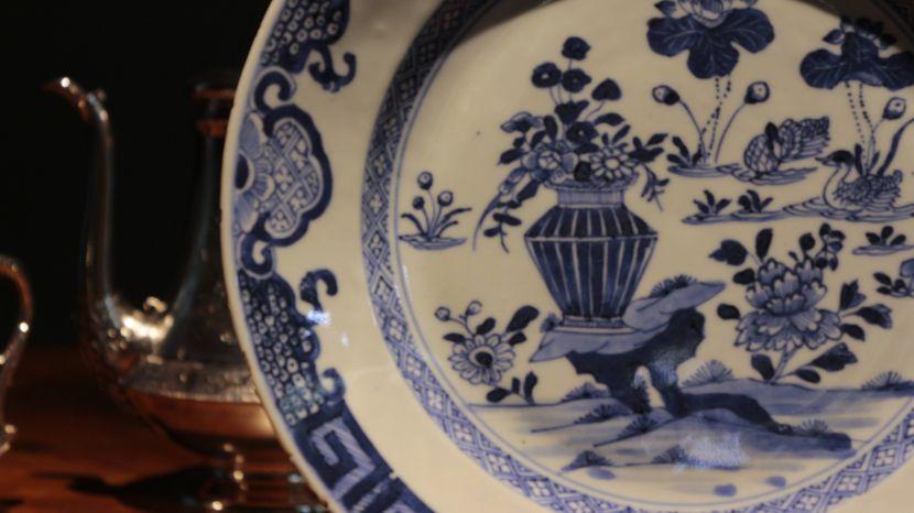瓷器-青花瓷盤