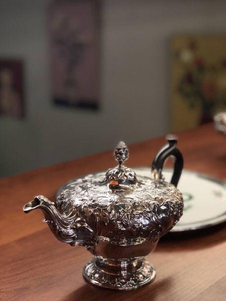 銀器-茶桌上的另一種美麗