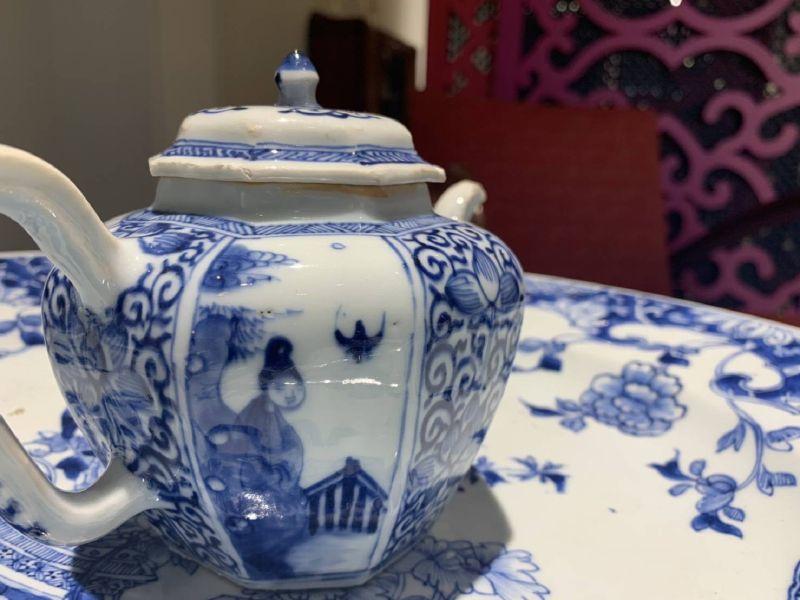 瓷器-青花瓷壺