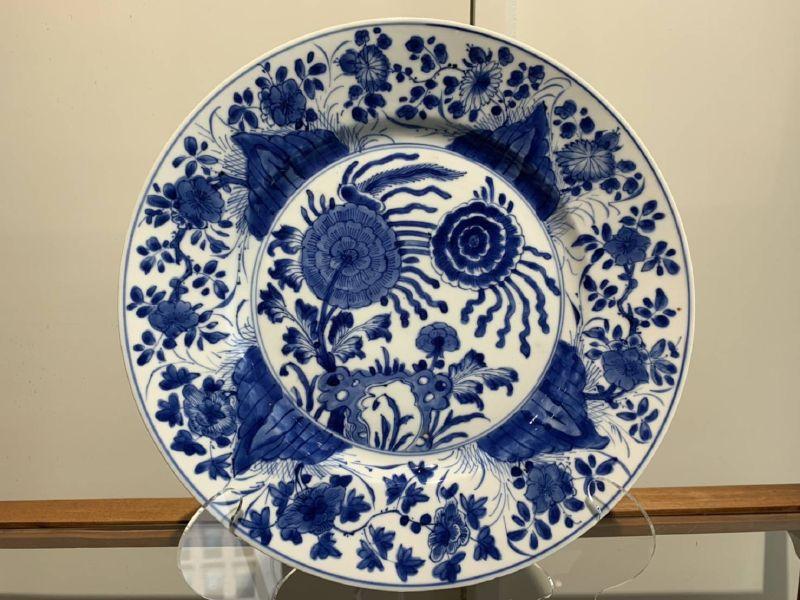 瓷器-青花盤