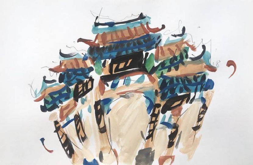 蔡國傑-新埔義民廟