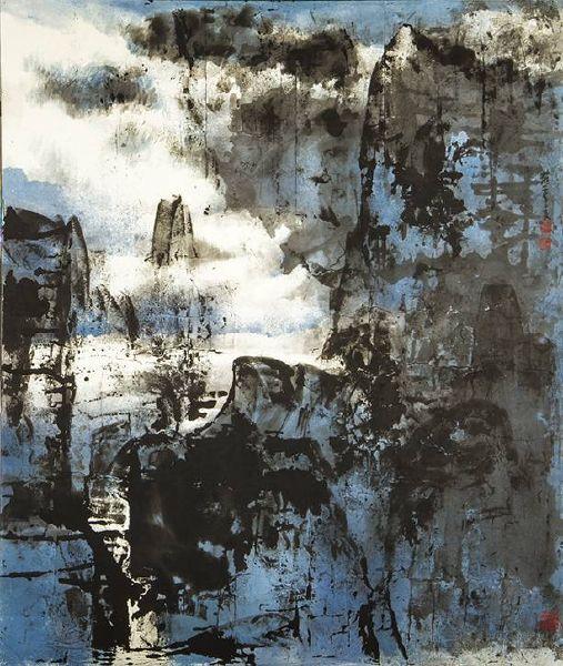 羅芳-白雲生大壑