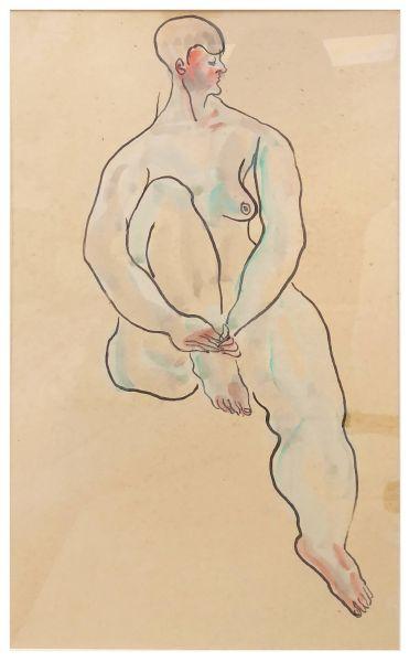 常玉-裸女