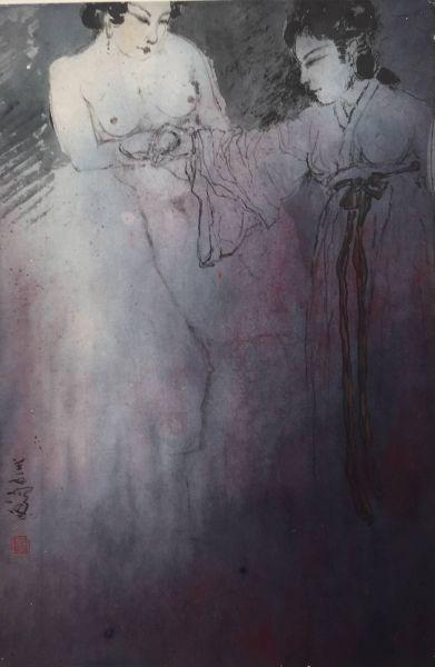 楊善深-裸女圖