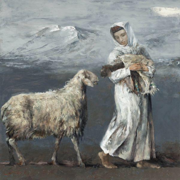 岑龍-初生的羔羊 The Newborn Lamb
