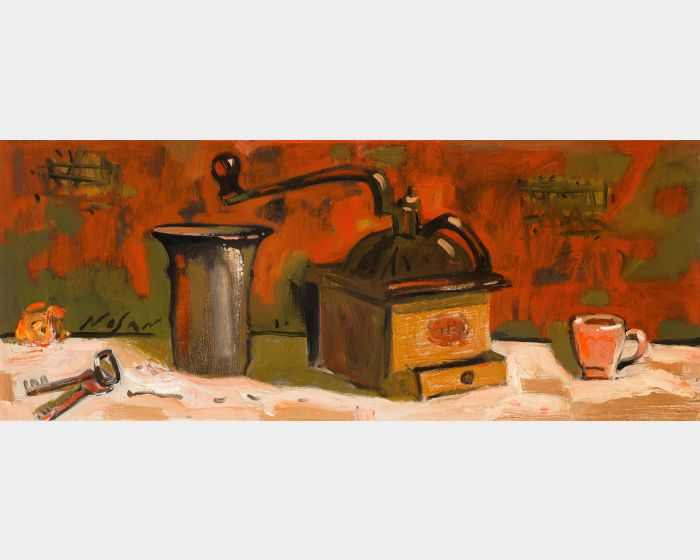 弗拉基米爾.諾山-咖啡靜物|Coffee Still Life