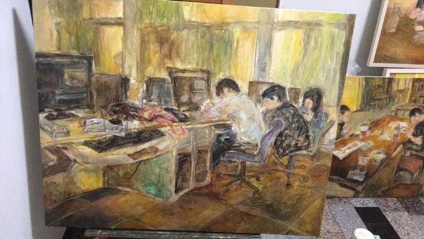 陳泓元 -畫室 III