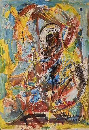 Yuri Marushkin-Buddha in meditation
