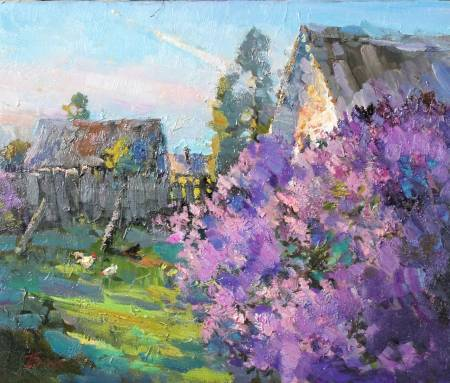 Pavel Veselkin-Morning rays