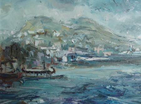Natalia Nysh-Before the Gale in Crimea, July
