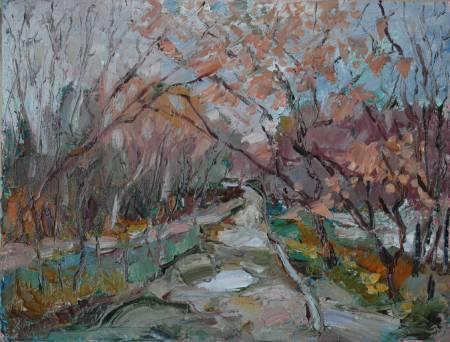 Natalia Nysh-Paysage Arbores autumnales