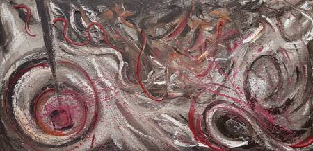葛拉娜-Abstraction #01(Chaotic mind)