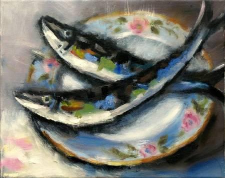 Mar - Atelier-年年有餘 oil painting #7