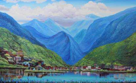 葛拉娜-Blue mountains