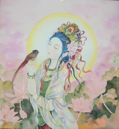 傳意菩提-菩薩物語  畫師:張德怡