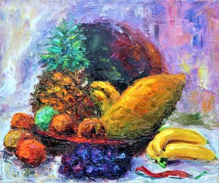 潘柏克(柏克創藝)-果甜瓜香 Sweet Fruits and Fragrant Melons