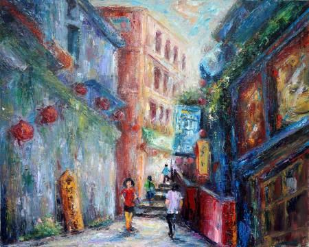 潘柏克(柏克創藝)-九份老街 Jiufen Old Street