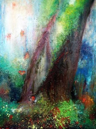 潘柏克(柏克創藝)-神木蝶舞 Sacred Tree and Flying Butterflies