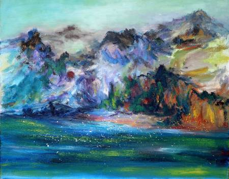 潘柏克(柏克創藝)-山光水色  The Beauty of The Mountains and Sea