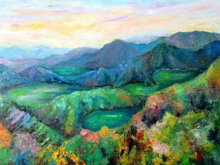 潘柏克(柏克創藝)-湖光山色 The Natural Beauty of Lakes and Mountains