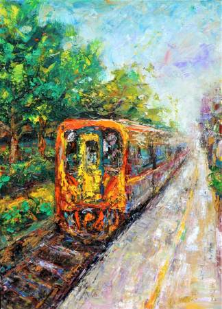 潘柏克(柏克創藝)-平溪線火車  Pingxi Line Train