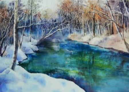 Yongxuan-雪落平湖瀲灩間