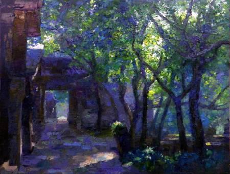 宋適生-逆光的樹