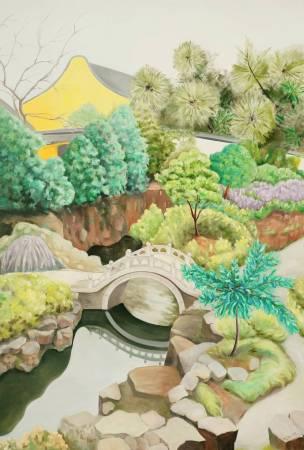 楊玉金-寧靜的園林