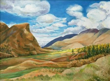 楊玉金-紐西蘭風景