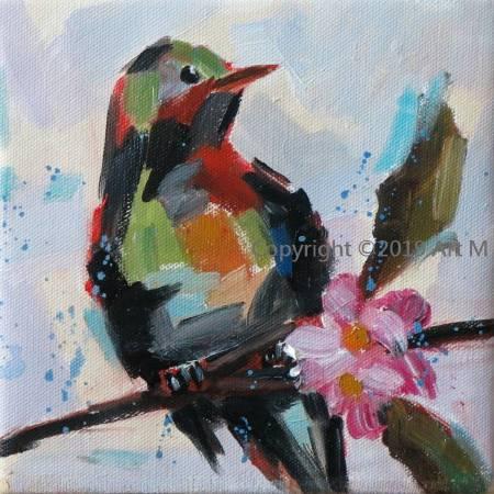 Mar - Atelier- [超萌系列] - 我是一只美麗的小小鳥  ART13