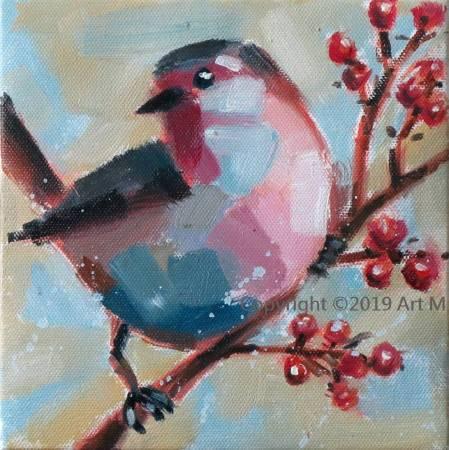 Mar - Atelier- [超萌系列] - 我是一只美丽麗的小小鳥  ART8
