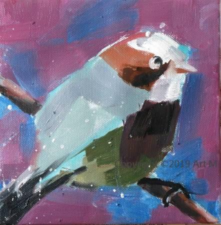 Mar - Atelier- [超萌系列] -  我是一只美麗的小小鳥  ART7
