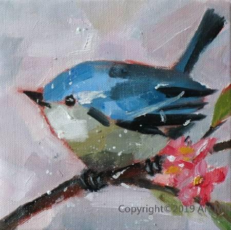 Mar - Atelier- [超萌系列]  - 我是一只美麗的小小鳥  ART5
