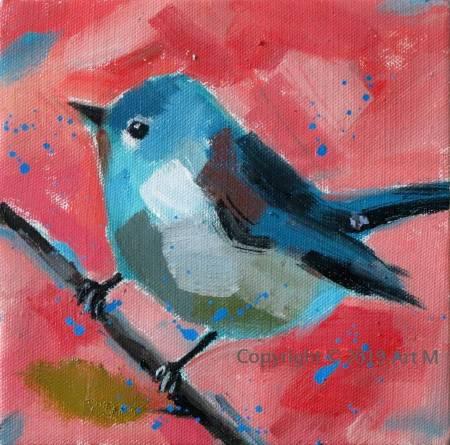 Mar - Atelier- [超萌系列] -  我是一只美麗的小小鳥  ART2