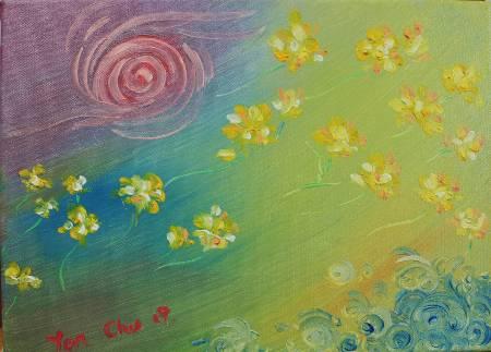 細雨 -碎花語 Broken flowers in the wind