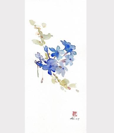 沈鈺華-藍雪花I