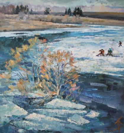 Pavel Veselkin-Melting Ice