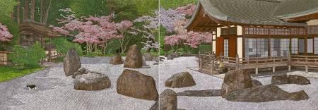 林宗範 -春日散策