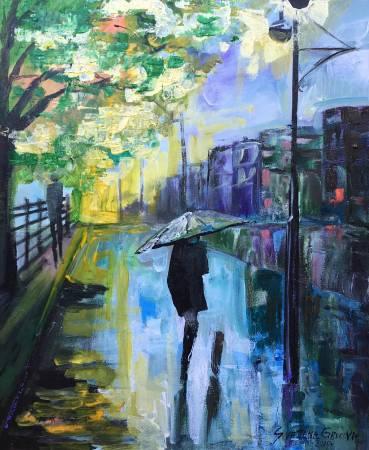 葛拉娜-Rainy mood