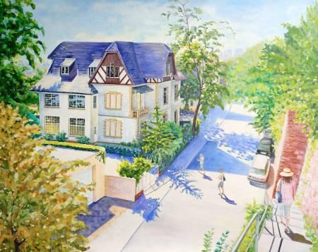 楊玉金-海德堡的街道