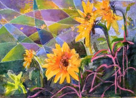 胡志誠-裝飾向日葵