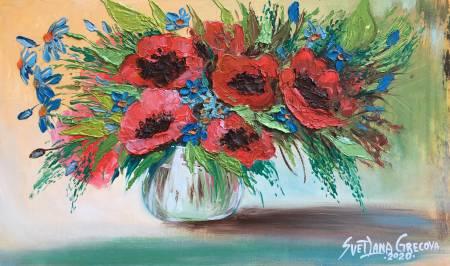 葛拉娜-Poppies-spirit of passion