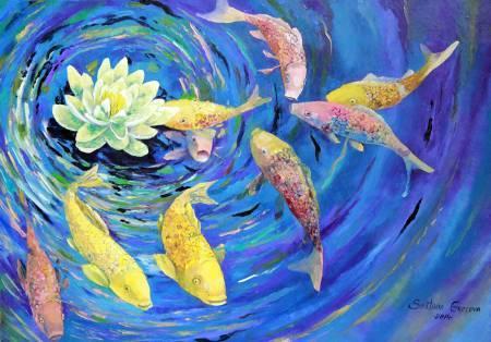 葛拉娜-吉慶有餘 Long wealhiness – 9 fish
