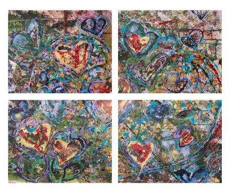 葛拉娜-My Love (38cm*31cm*4) 4 pieces