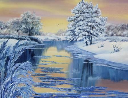 葛拉娜-Winter beauty