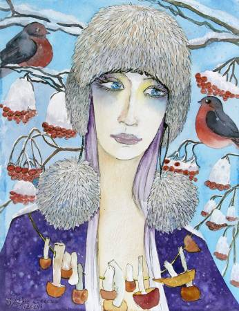 葛拉娜-Melancholy of winter